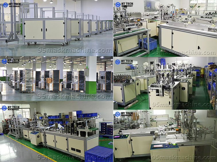 Face Mask Machine Production Workshop For HT Tech