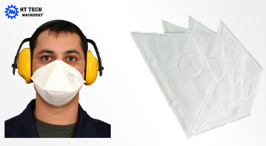 Production Sample OF Dust Mask Machine