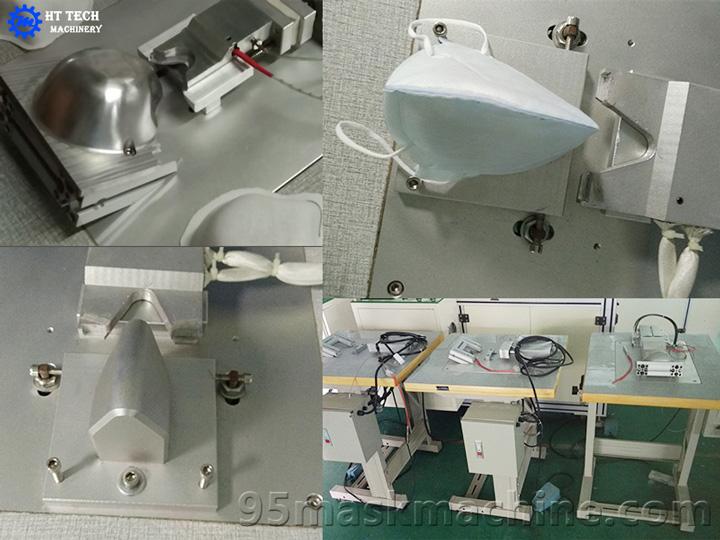 Respirator Aluminum Nose Clip Welding Machine