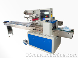 Surgical Mask and Dust Mask Packaging Machine