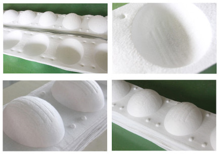 Production Sample OF Respirator Forming Machine